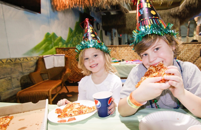 Birthday parties at EdgeWater Resort and Waterpark.