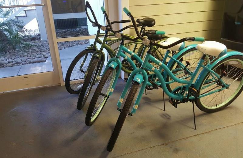 Bike rentals at Islander Hotel & Resort.