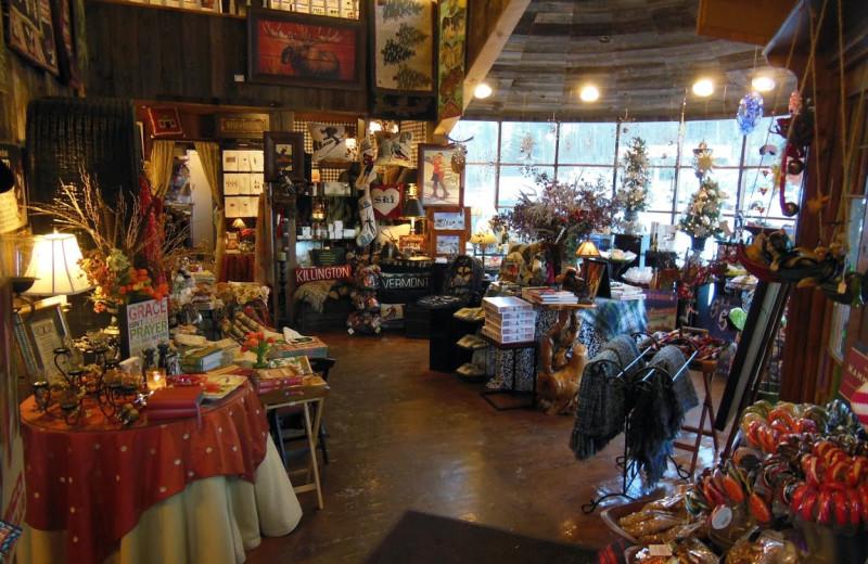Gift shop at The Greenbrier Inn & Gift Shop.