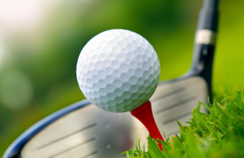 Golf course near Inn At The Beach Resort.