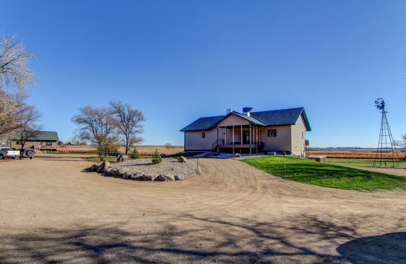 Exterior view of Double P Ranch.