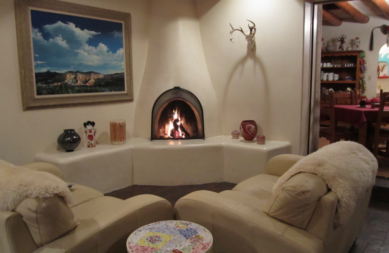 Suite interior at Pueblo Bonito.