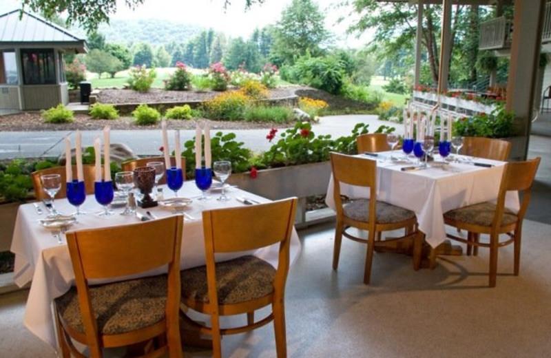 Dining at The Waynesville Inn Golf Resort & Spa