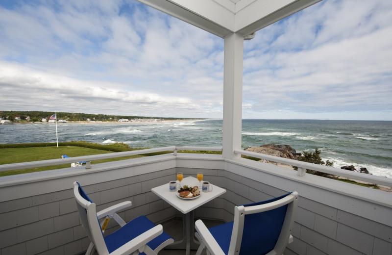 Porch view at Beachmere Inn.