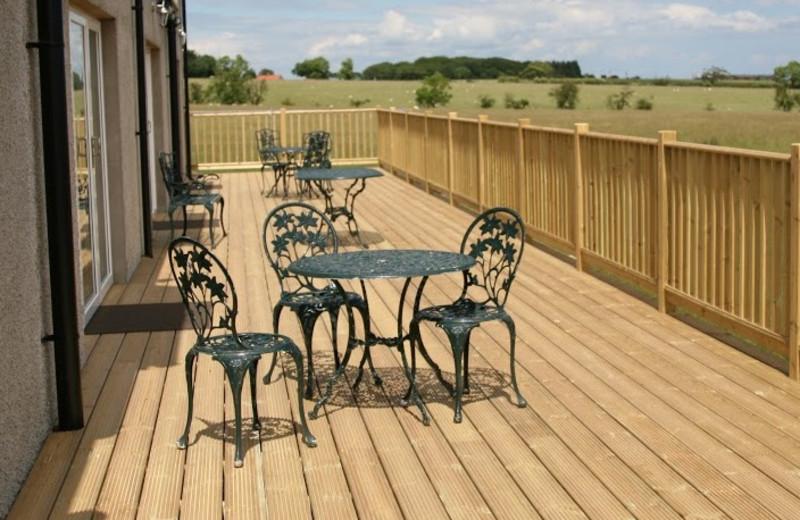 Deck at Inn at Lathones.