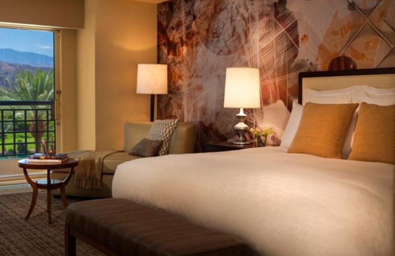 Guest room at Renaissance Esmeralda Resort.