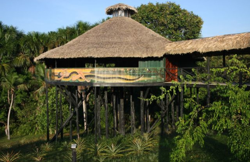 Exterior view of Amazonat Jungle Lodge.