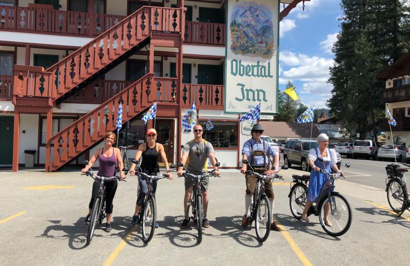 Biking at Obertal Inn & Vacation Rentals.