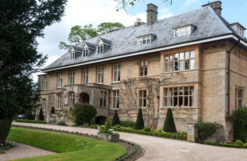 Exterior view of Lower Slaughter Manor.