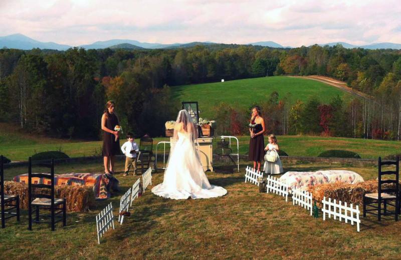 Wedding at Dahlonega Spa Resort.