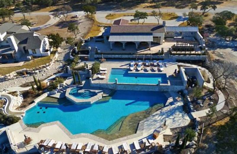 Aerial View of Stablewood Springs Resort