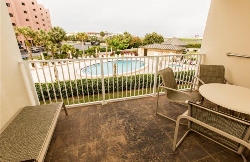 Balcony at Holiday Isle Properties - Islander 212.