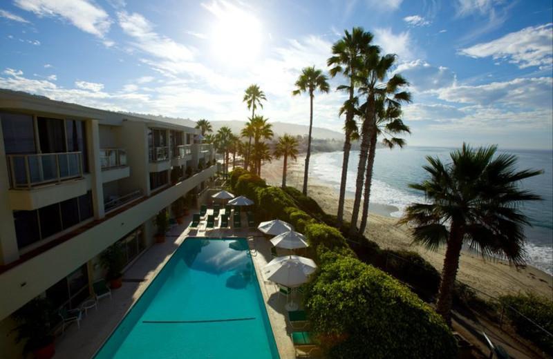 Outdoor pool at Inn at Laguna Beach.