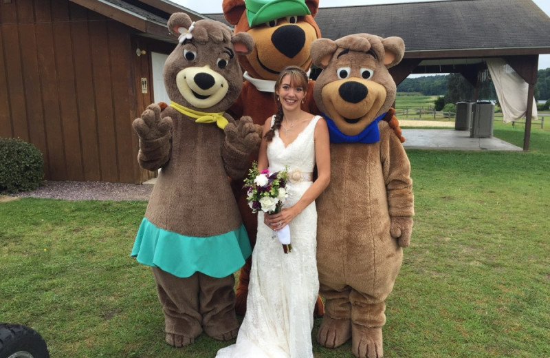 Weddings at Yogi Bear's Jellystone Park Warrens.