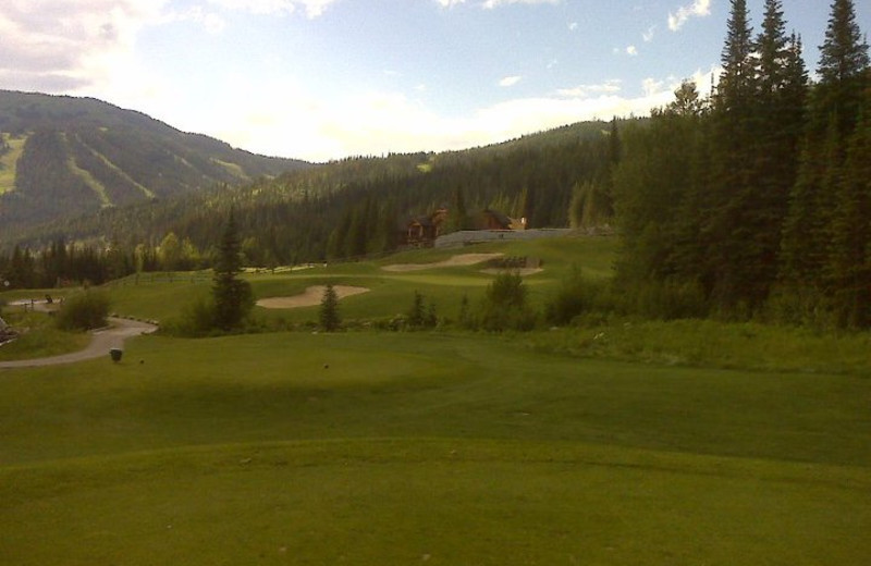 Golf course at Hearthstone Lodge.