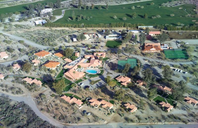Aerial view of ranch at Rancho De Los Caballeros.