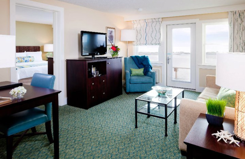 Suite Interior at Sea Crest Beach Hotel