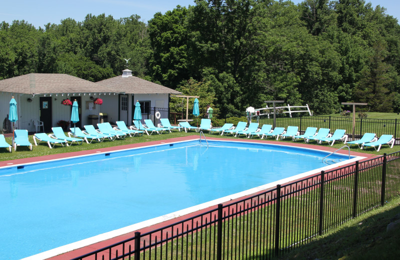 Outdoor pool at Water Gap Country Club.