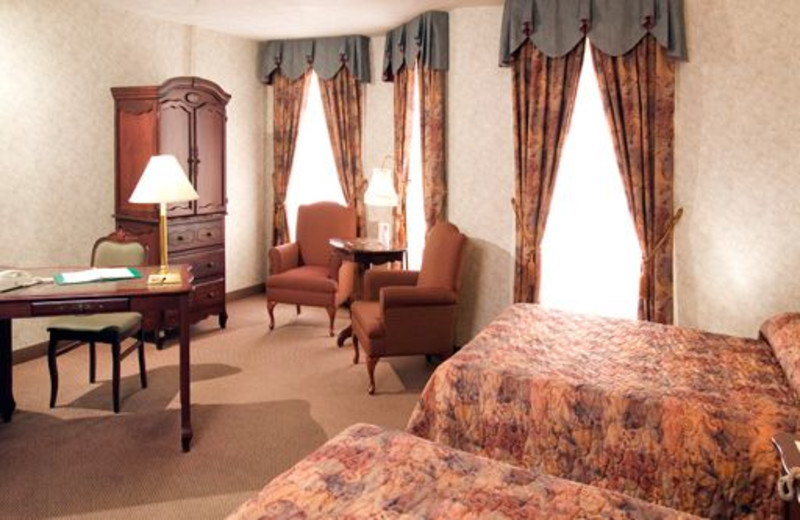 Guest room at Chateau Moncton.