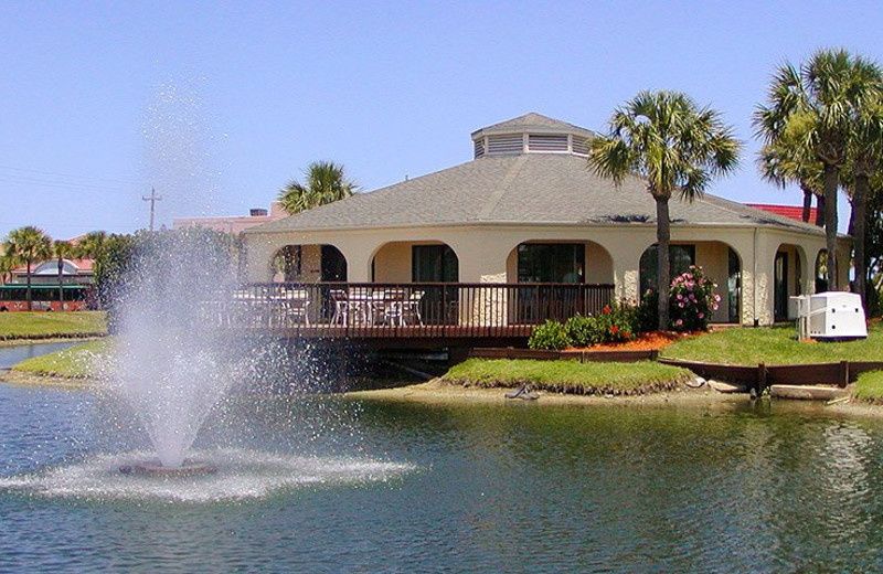 Clubhouse at St. Augustine Ocean & Racquet Resort.