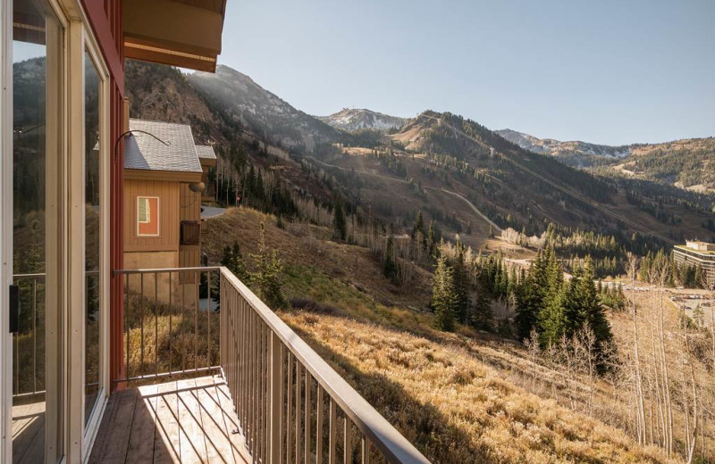 Mountain view at Canyon Services Vacation Rentals.