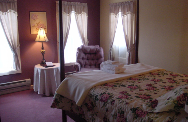 Guest room at The Pines Inn of Lake Placid.