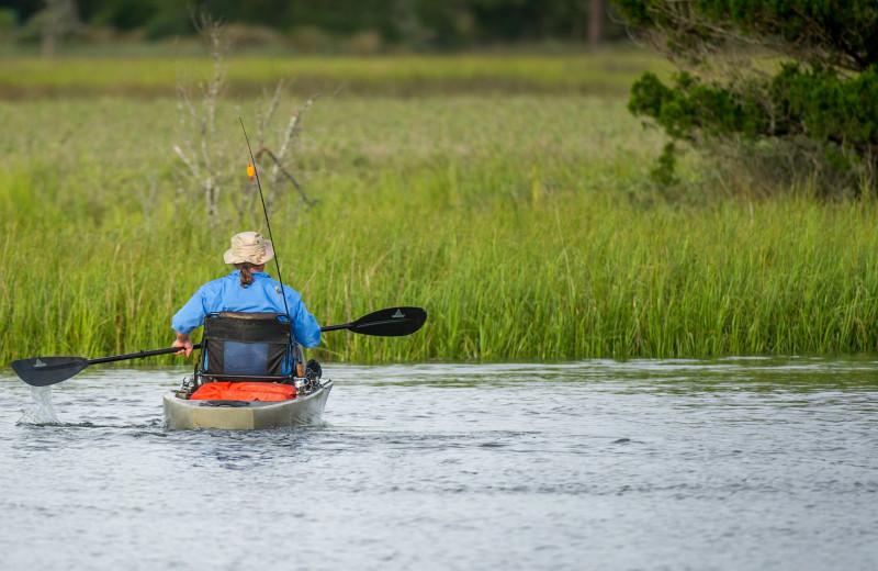 Kayaking at Westin Jekyll Island.