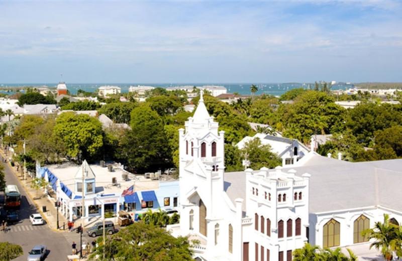 View from La Concha Hotel & Spa.