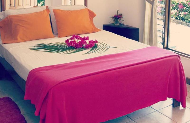 Guest room at Hotel Vista Mar.