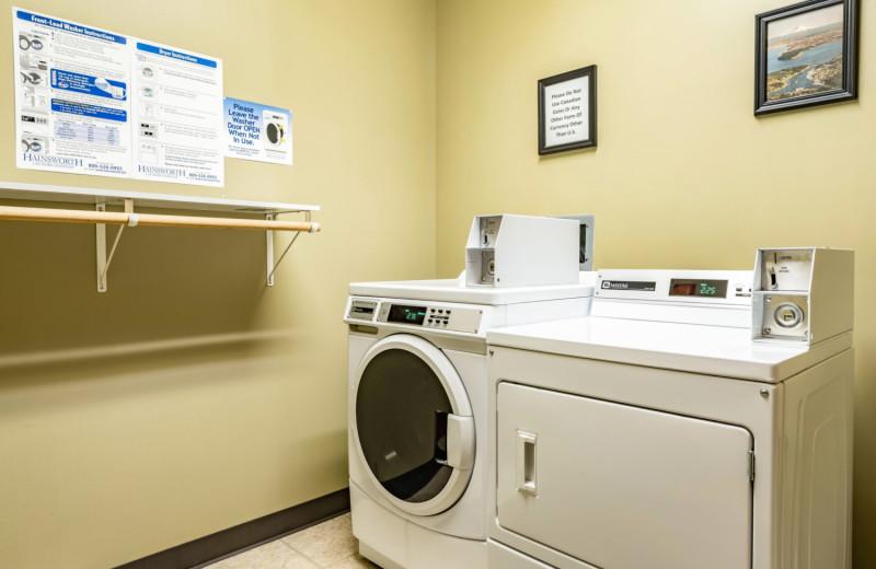 Laundry at The INN at Gig Harbor.
