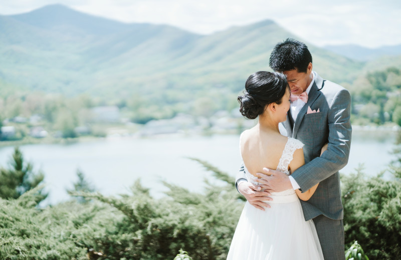 Inspiration Point at Lake Junaluska Conference and Retreat Center is a breathtakingly beautiful wedding ceremony venue.