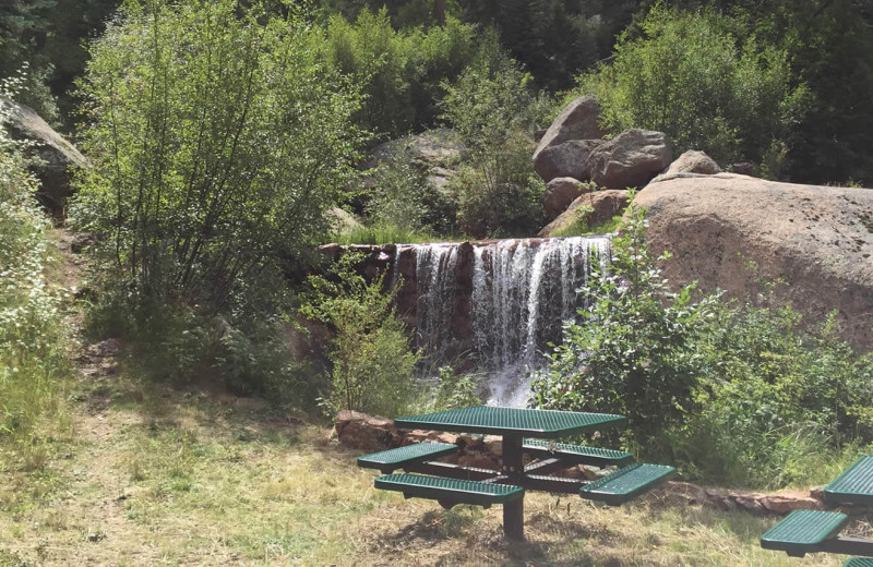 Picnic at Rocky Mountain Lodge & Cabins.