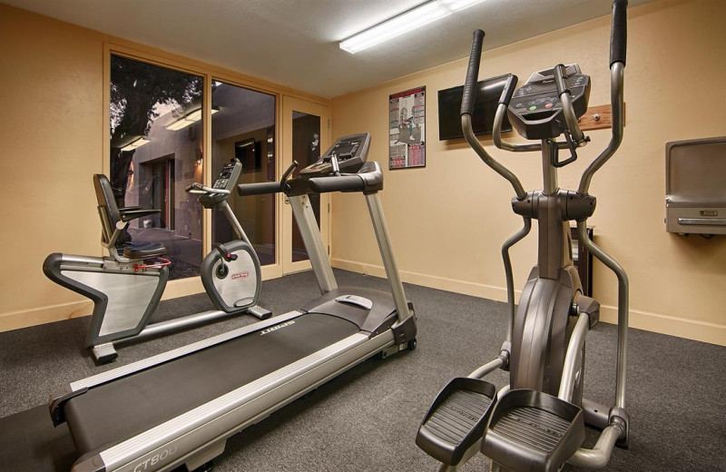 Fitness room at Best Western Plus Inn of Sedona.