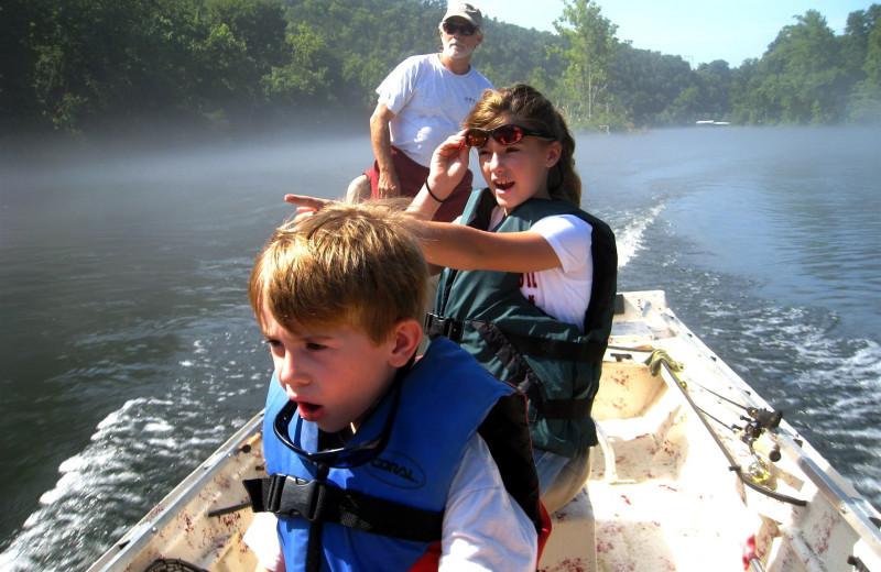 Fishing t River Ridge Inn.