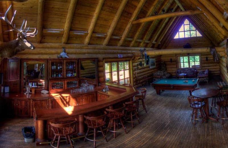 The Bar Interior at Three Bars Ranch