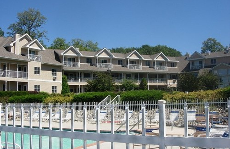 Exterior view of Westwood Shores Waterfront Resort.