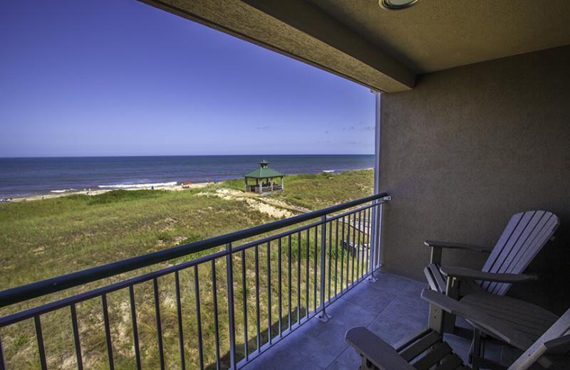Resort balcony at Gold Key Resorts.