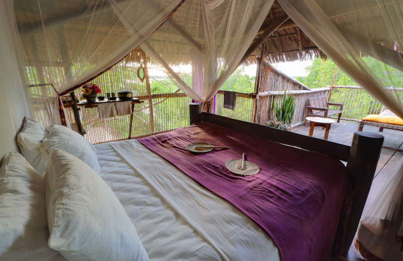 Guest room at Sanctuary Tanzania.
