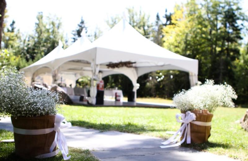Wedding at Fiddler Lake Resort.