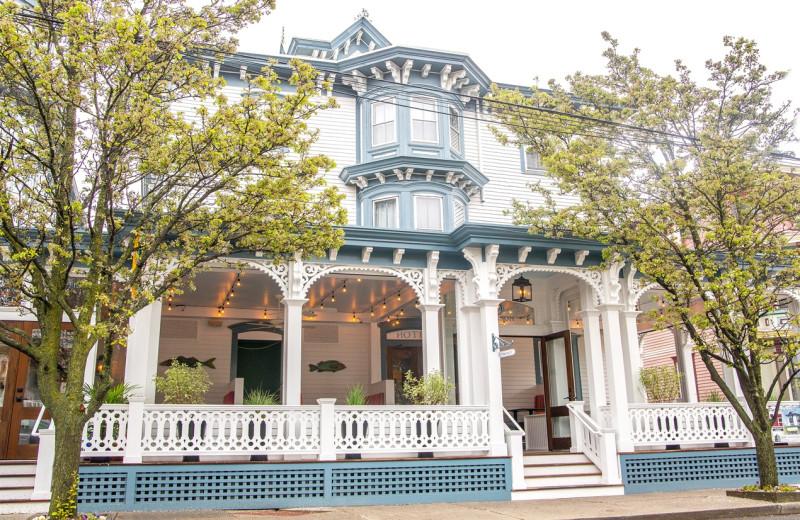 Exterior view of Carroll Villa.