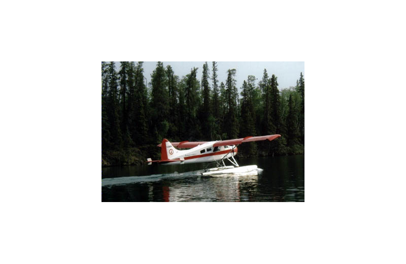 Plane at Pine Point Lodge & Outposts.