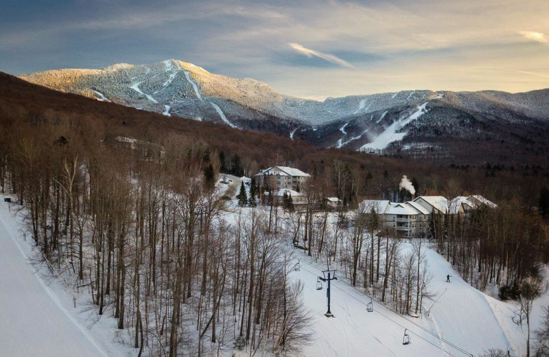 Winter at Smugglers' Notch Resort.