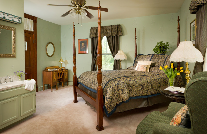 Guest room at Afton Mountain Bed and Breakfast
