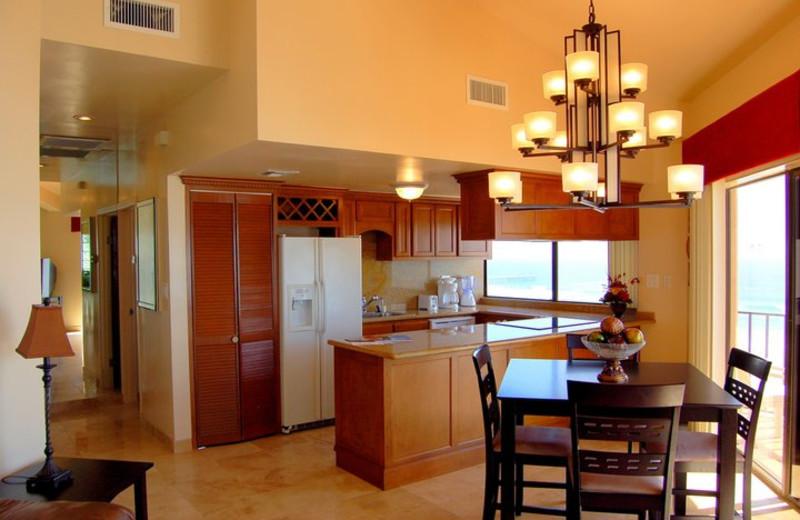 Oceana Torres Kitchen at  Rosarito Inn Condominiums