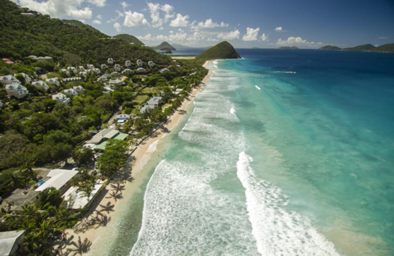 Exterior view of Long Bay Beach Resort & Villas.