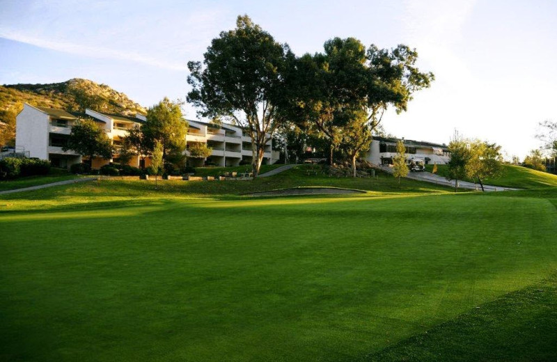 Exterior view of San Vicente Golf Resort.