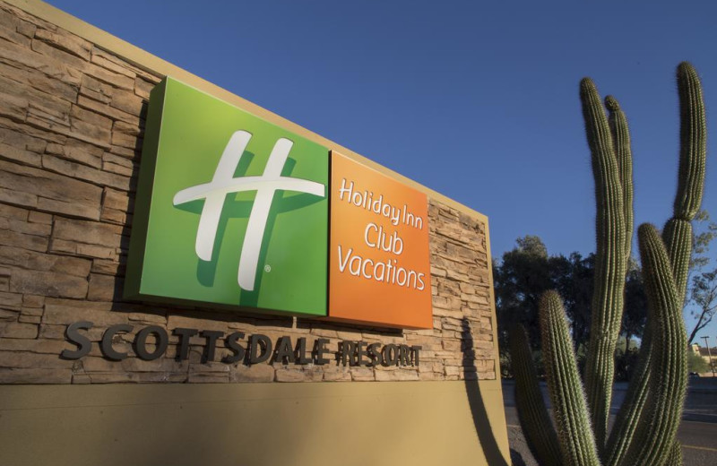 Exterior view of Holiday Inn Club Vacations Scottsdale Resort.