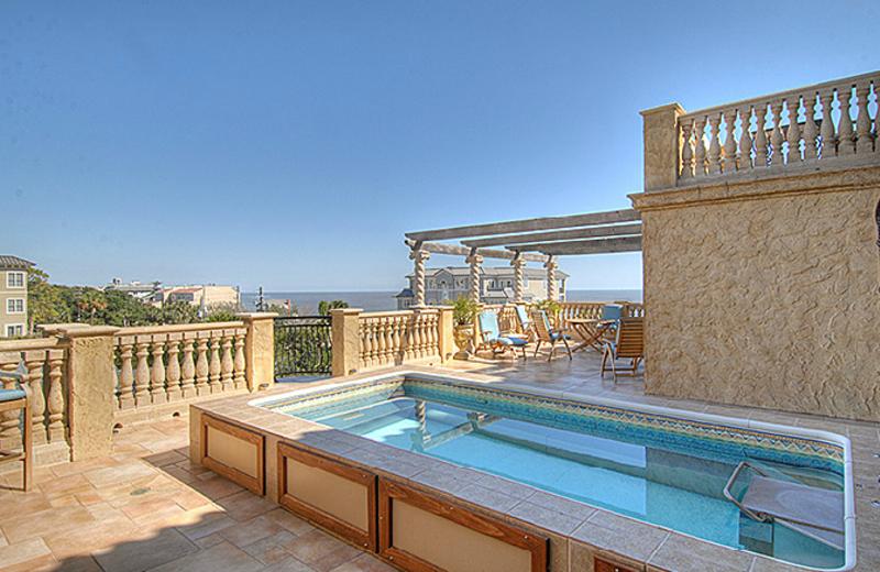 Pool View at Ocean Lodge