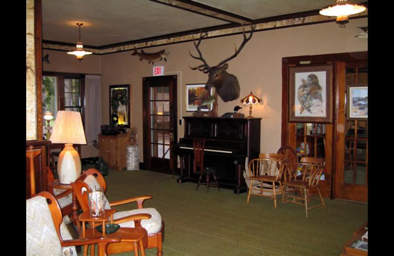 Lounge at Voss' Birchwood.