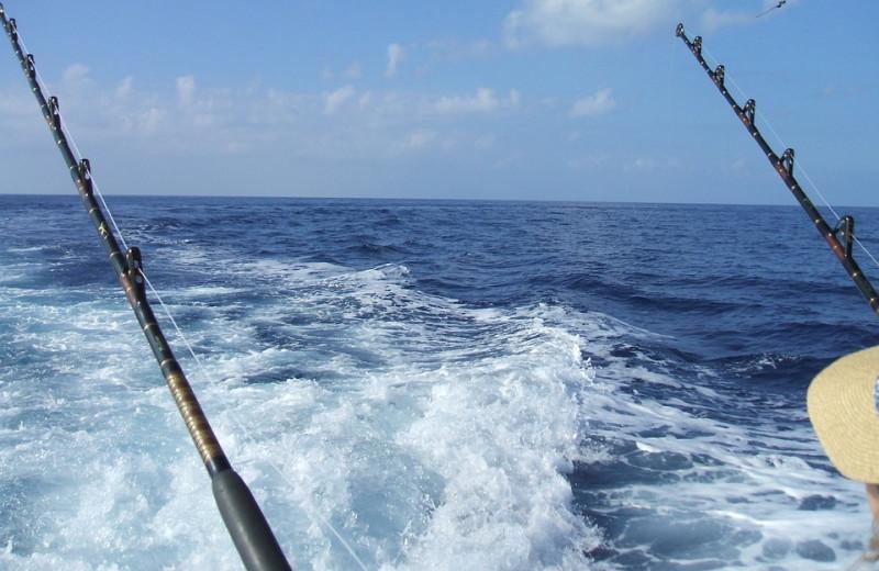 Fishing at Crystal Waters Vacations.